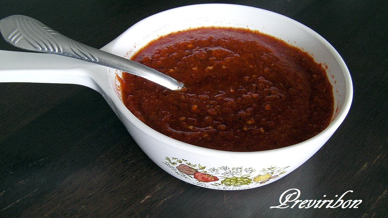 Salsa Roja Chile Guajillo Y Arbol How To Make Red Sauce Arbol And Guajillo Chili Video 137 Salsa Roja Mexican Food Recipes Mexican Cooking