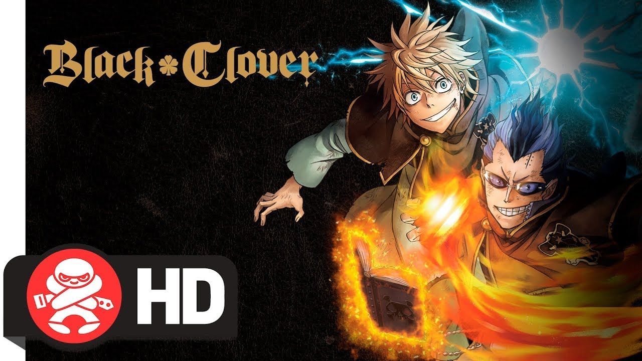 Black Clover Season 1 Part 5 Dvd Blu Ray Combo Dvd Blu Ray Blu Season 1