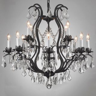 Regent Iron 12 Light Chandelier Love It Iron Chandeliers