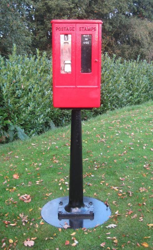 Cast Iron Royal Mail Stamp Vending Machine Royal Mail