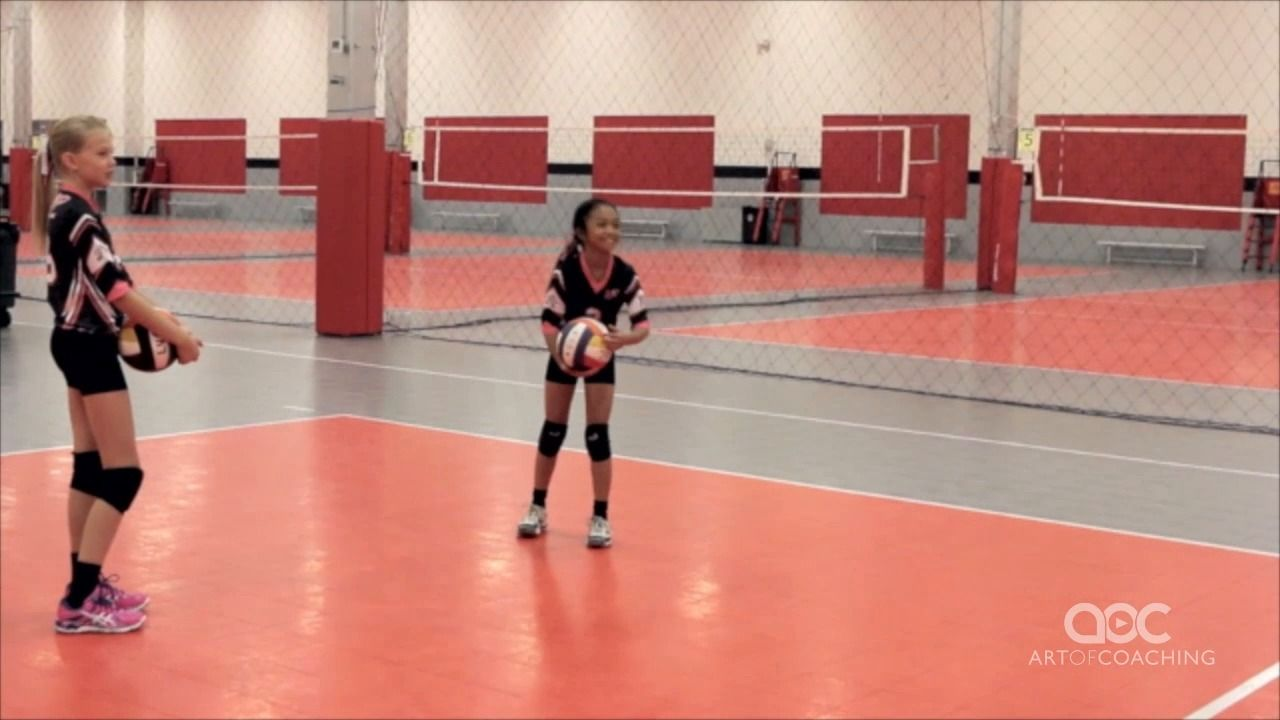 Video Thumbnail Coaching Volleyball Youth Sports Coaching