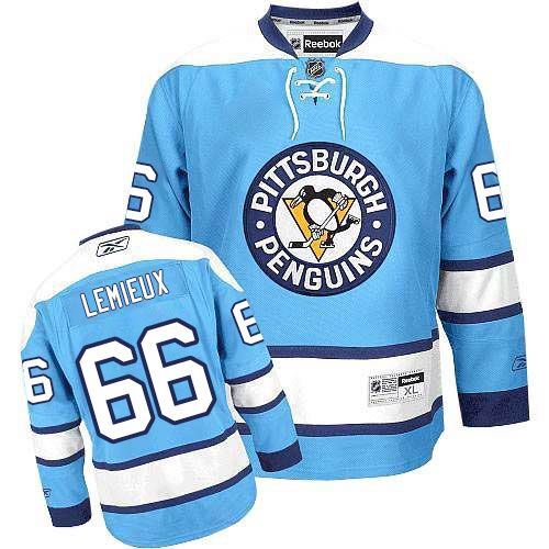 Pin on Authentic Mario Lemieux Jersey - Women's Youth Black Blue ...