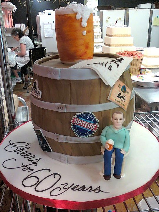 Beer Birthday Cakes For Men Birthday Cake Gallery With Images