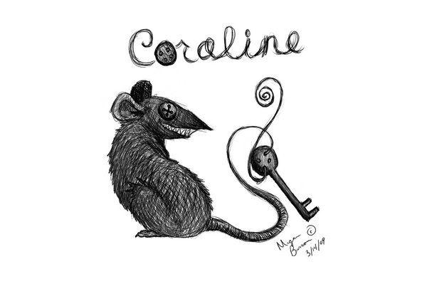 Coraline Rat Coraline Drawing Coraline Art Coraline Tattoo