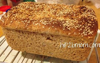 My homemade wholemeal bread