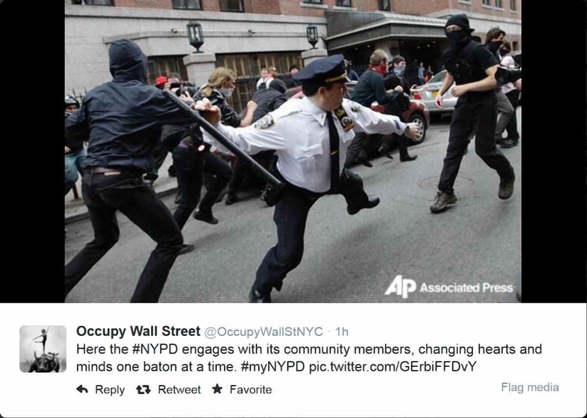 #myNYPD, il social fail del dipartimento di polizia di New York - SocialDaily Italia