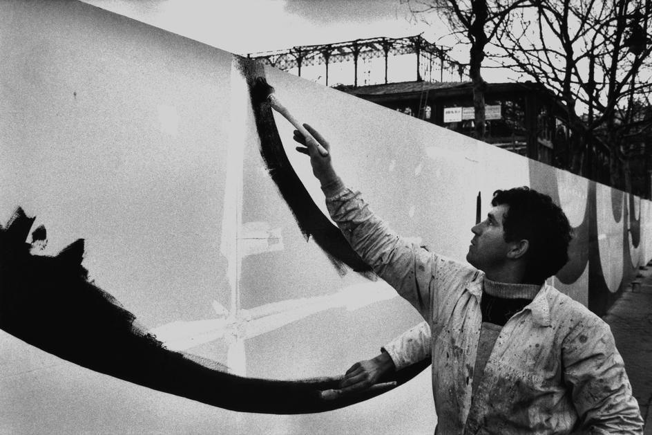 Richard Kalvar - FRANCE. Paris. District of Les Halles. 1972. PAR157630