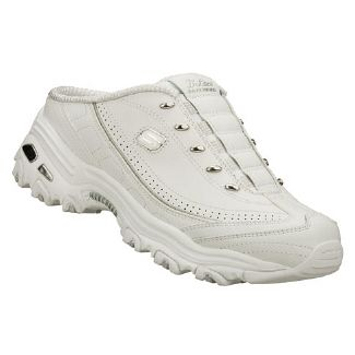 Skechers D'Lites Opal Shoes (White) Women's Shoes 8.0 M