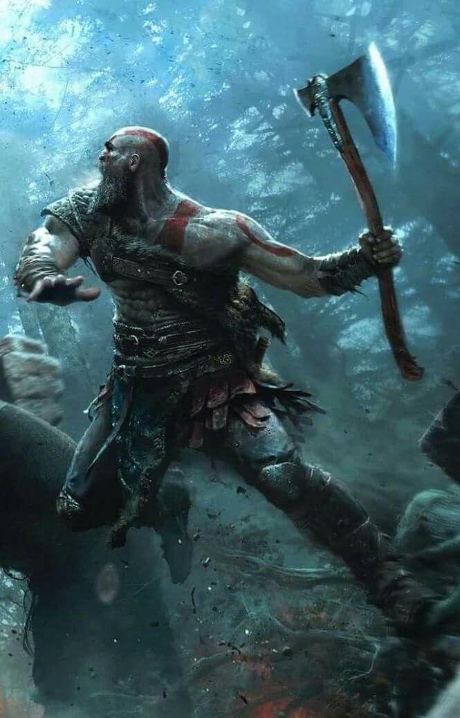 Kratos god of war ps4 gaming artwork videojuegos - God of war wallpaper for ps4 ...