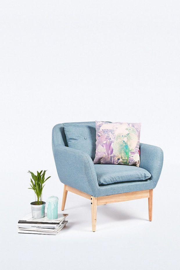 Sofia Armchair in Dusk - Urban Outfitters