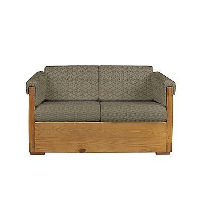 Stupendous This End Up Classic Loveseat With Our Quilted Cooper Lichen Inzonedesignstudio Interior Chair Design Inzonedesignstudiocom