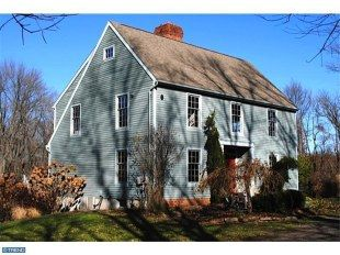 I Love This One With The Shed Dormer On Rear Saltbox Saltbox Houses Shed Plans Colonial House