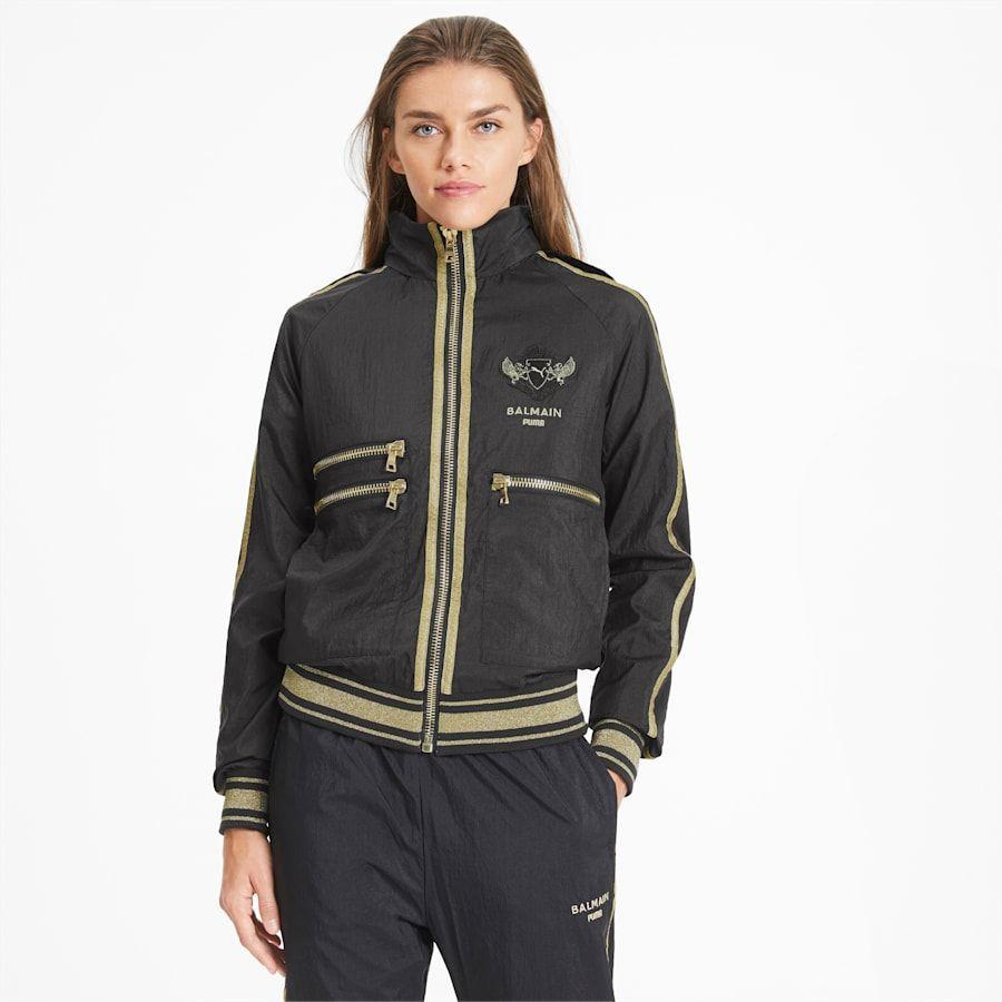 Puma X Balmain Woven Track Jacket Puma Balmain Puma Germany Track Jackets Classic Sportswear Jackets [ 900 x 900 Pixel ]