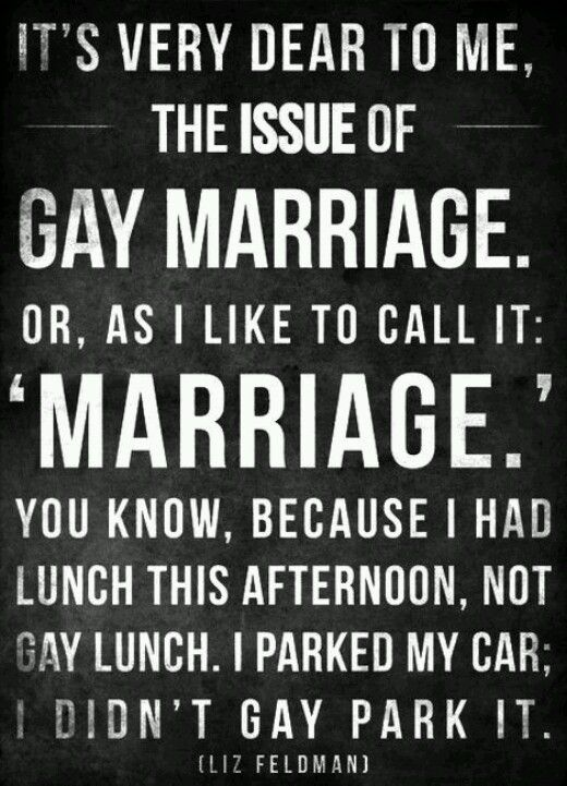 Gay and lesbian issue