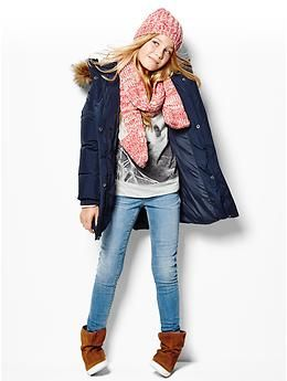 Warmest down long puffer jacket