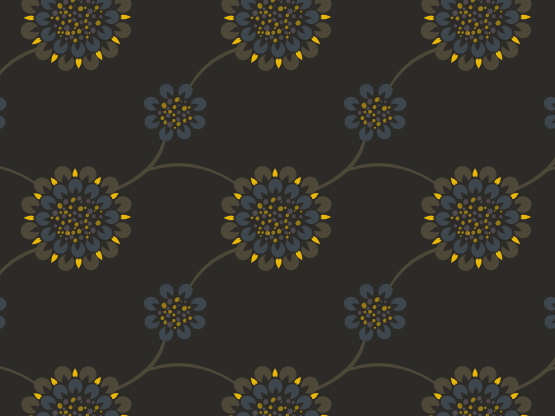 """Gold"" by Penina Gold, blue gray, brown, cool gray, gray, warm gray, yellow"