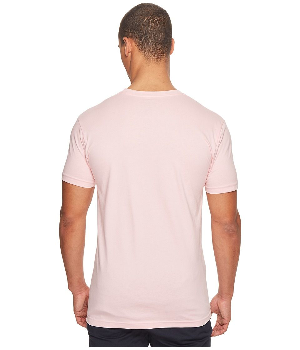 cc54e7097 Ben Sherman Short Sleeve Record Target Graphic Tee Men's T Shirt Light Pink