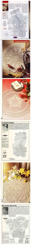 Many Free Crochet Doily Patterns Doilie Pinterest Diagram Doilies