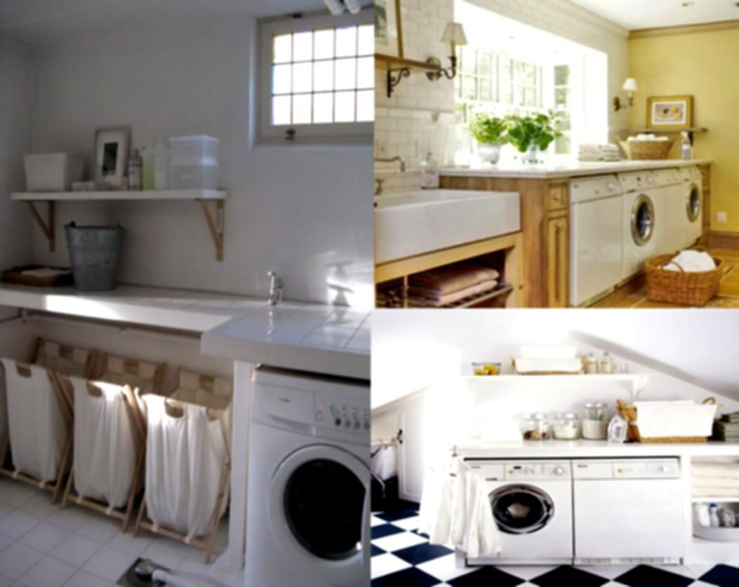 Charmant Incredibly Basement Laundry Room Inspiration Ideas