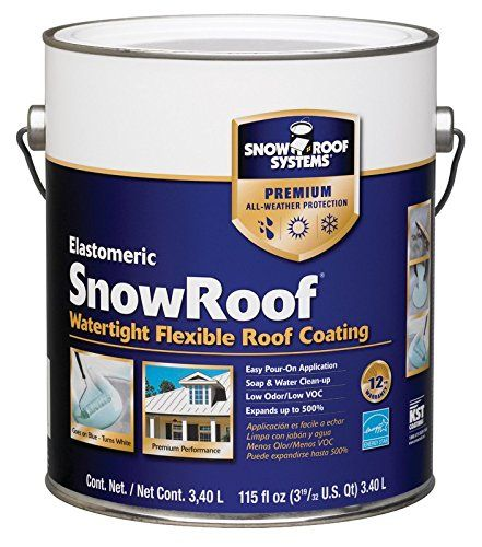 Snow Roof Read More Reviews Of The Product By Visiting The Link On The Image Roof Coating Roofing Systems Roof Maintenance