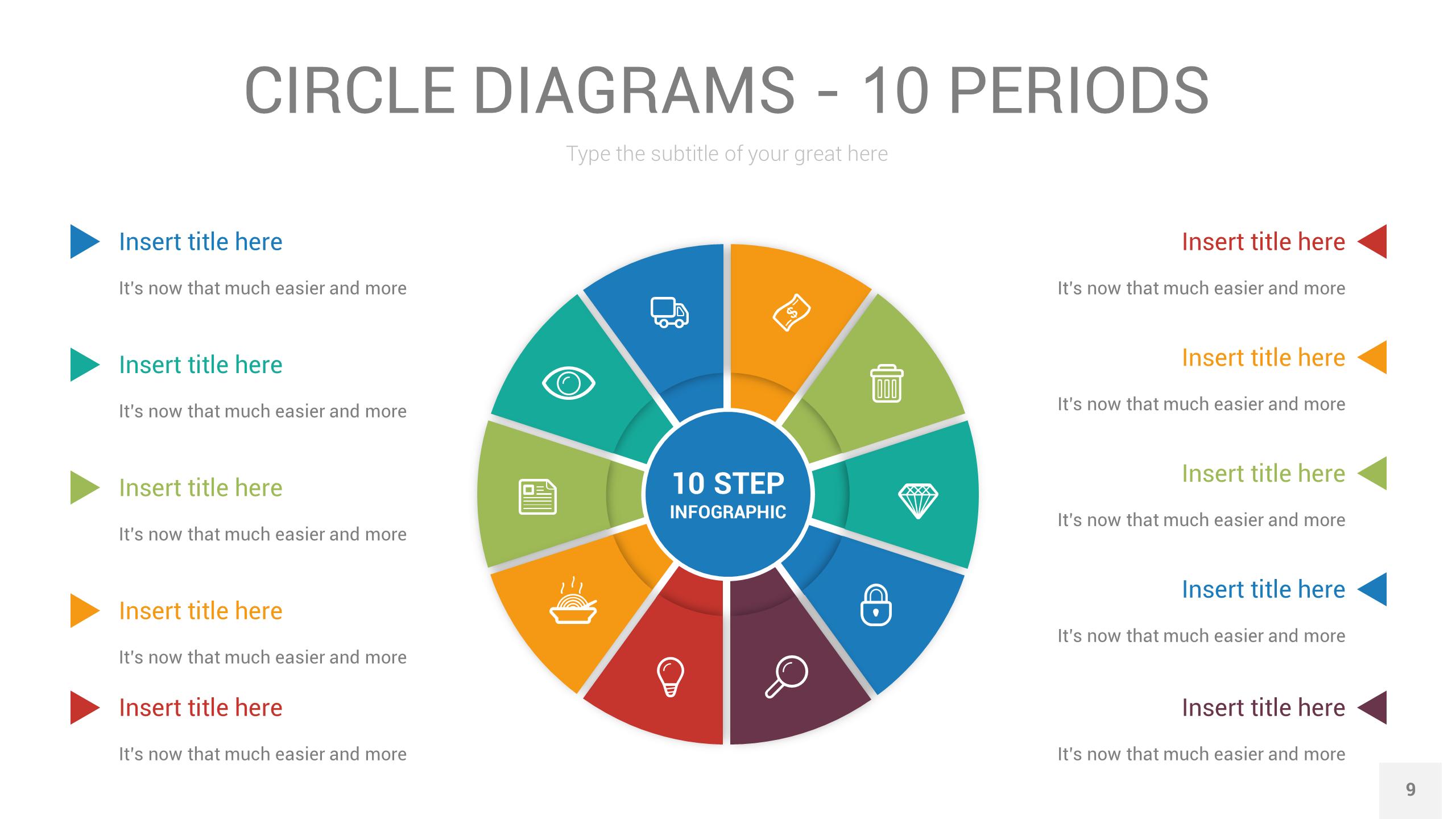 Circle Diagrams Powerpoint Illustrator Template Ad Diagrams Sponsored Circle Powerpoint Template Circle Diagram Illustrator Template Web Design Icon