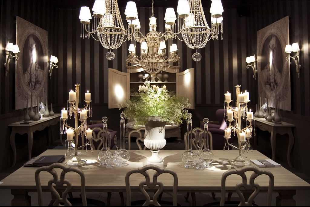 Luxurious Room Decor | Luxury Dining Room In Traditional Style Classic Home  Decor With .