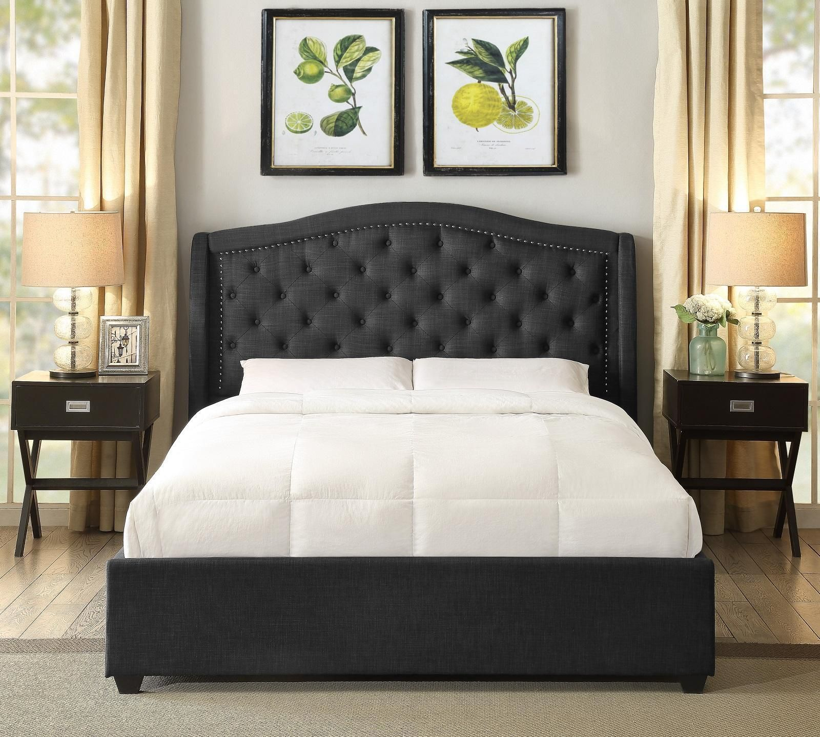 Dark Headboard For Adjustable Bed in 2020 Headboards for