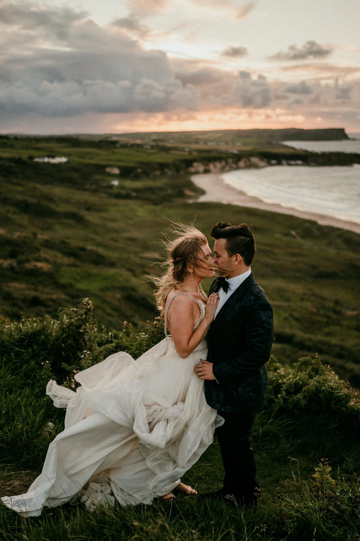 Connor Kelsey S Irish Destination Wedding Elope Wedding