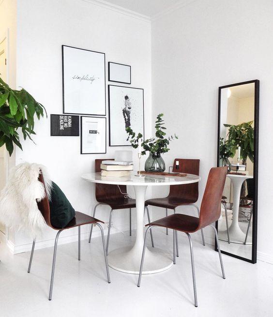 13 Dining Room And Kitchen Design Minimalist: Ikea 'Docksta' Tulipe Table @cmillahaugen