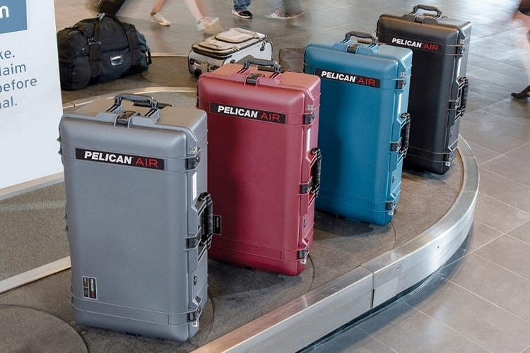Pelican AIR Travel Turns The Outfit's Indestructible Cases