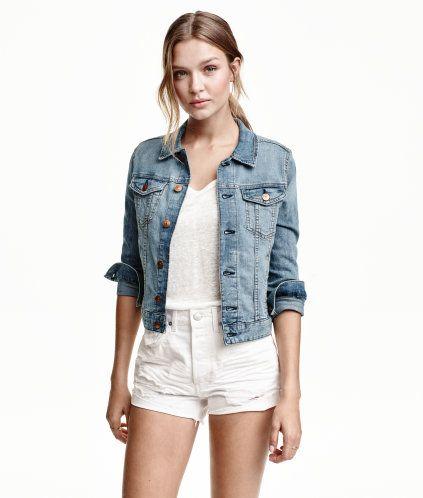 h m de jacke jeansjacke damen
