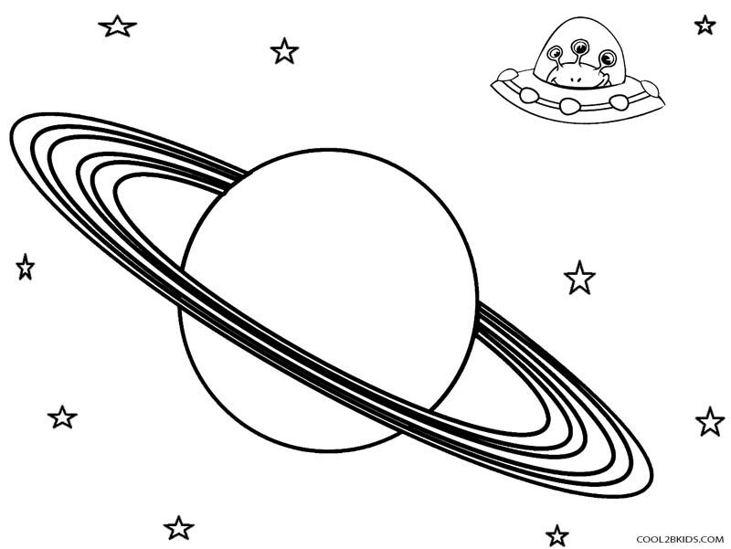 Printable Planet Coloring Pages For Kids | Cool2bKids | Space ...