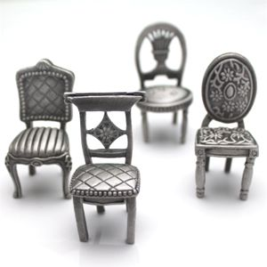 pewter chair summer potty place card holders centerpieces cards