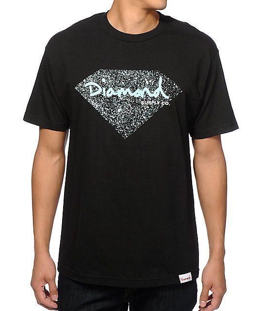 Diamond Supply Co OG Splatter T-Shirt  57ed1eb20aa3