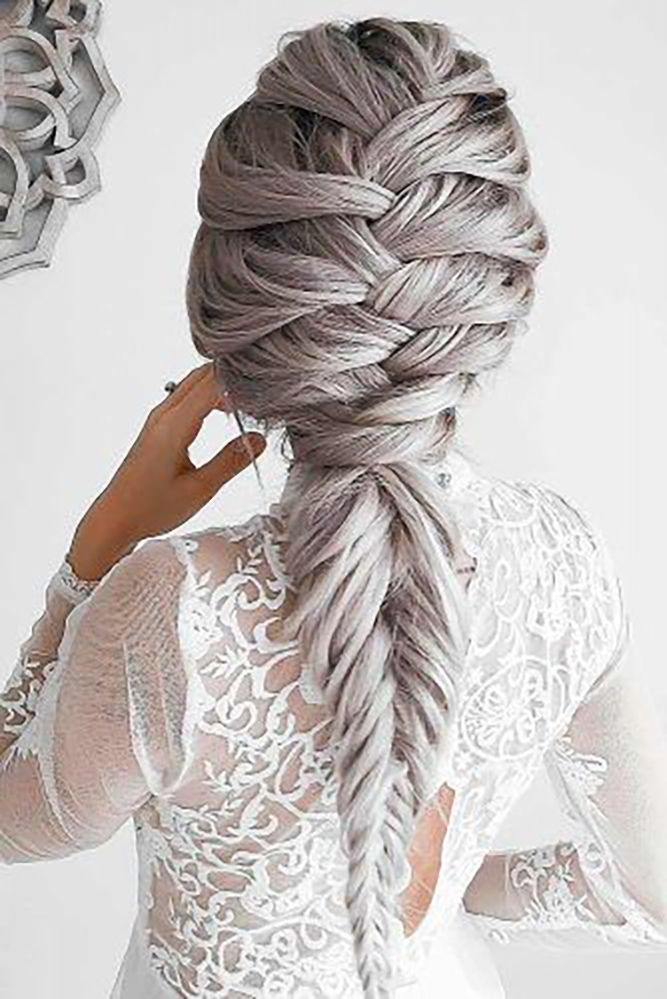 18 Creative And Unique Wedding Hairstyles For Long Hair: 42 Boho Inspired Unique And Creative Wedding Hairstyles