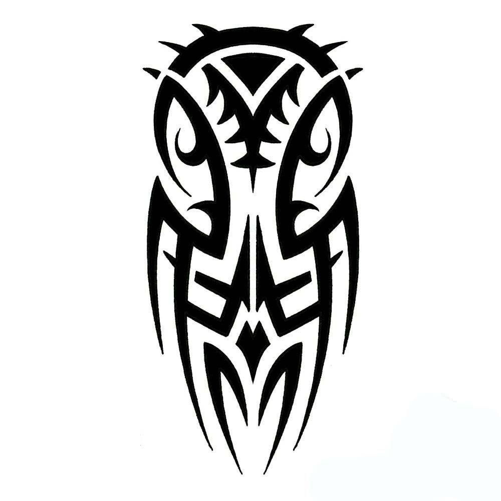 Tribal Owl Printable Tattoo Design Http Heledis