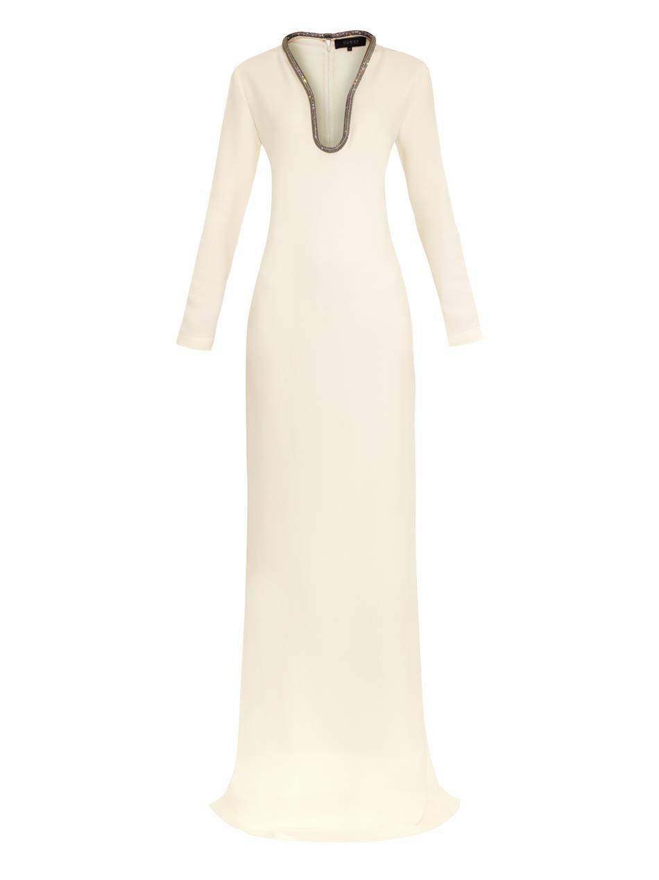 8b6d435eb GUCCI Crystal-embellished silk-cady gown | Wish list | Fashion ...