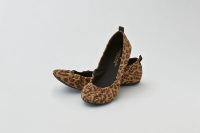 AEO Leopard Print Ballet Flat by  American Eagle Outfitters | Go way beyond basic. Shop the AEO Leopard Print Ballet Flat and check out more at AE.com.