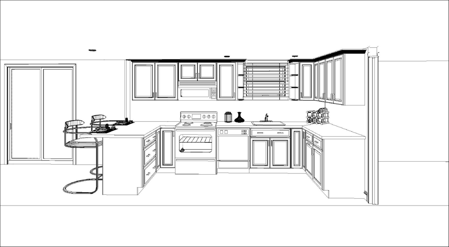 10 X 8 Kitchen Cabinets