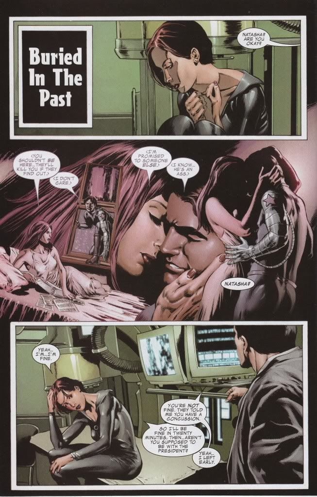 Black Widow And Winter Soldier Forbidden Love  Comics -6561