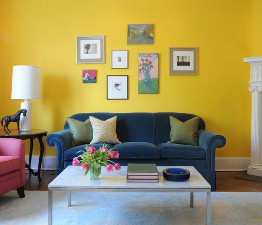 Committing To Color: A Playful But Elegant High-Low Living