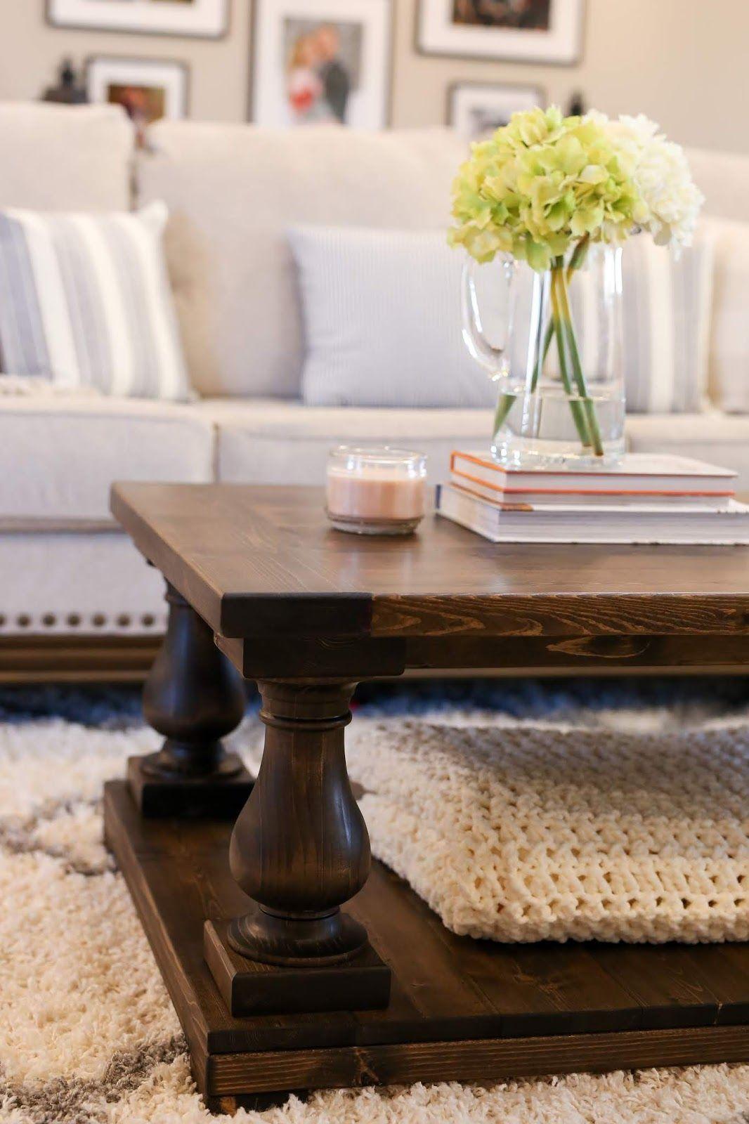 Balustrade coffee table diy plans coffee table diy