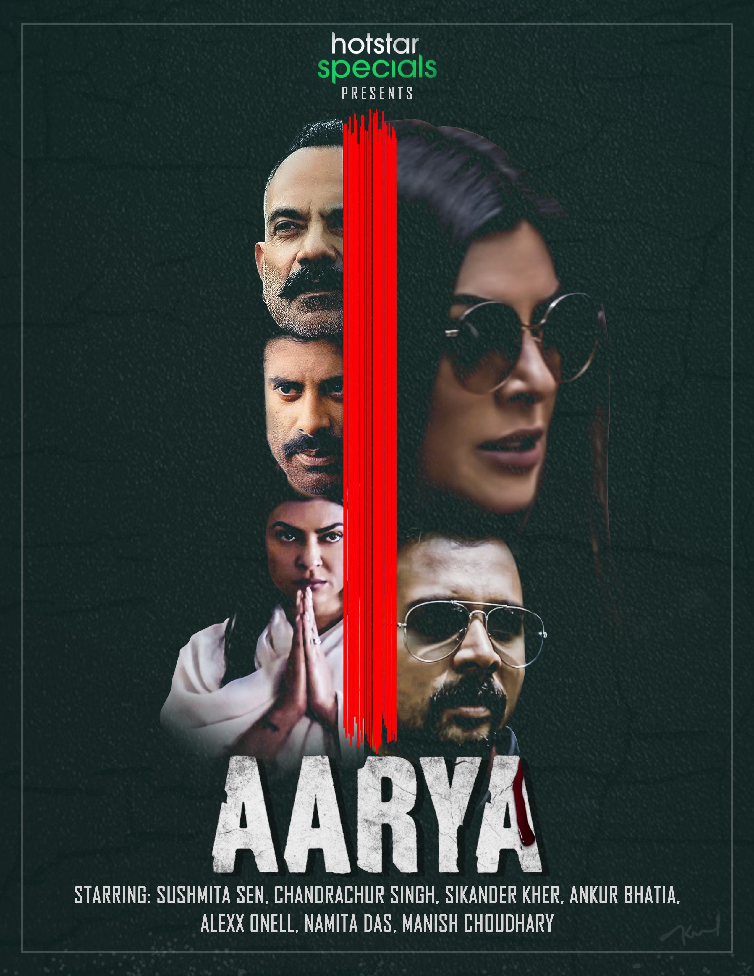 Aarya Movie Poster Design Nakul Anand Hotstar Aarya Movie 2020 In 2020 Movie Posters Design Aarya Movie Posters