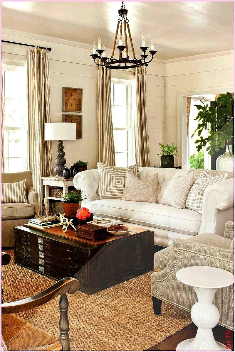 Statement Sofa for a Large Room A tufted chesterfield sofa covered in familyfriendly Sunbrella fabric adds scale and traditional style Ti Choose a Statement Sofa for a La...