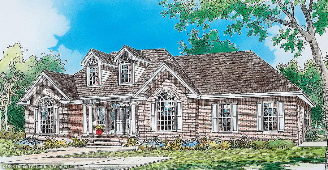 The Graham House Plan By Donald A Gardner Architects House Plans Farmhouse Floor Plans House