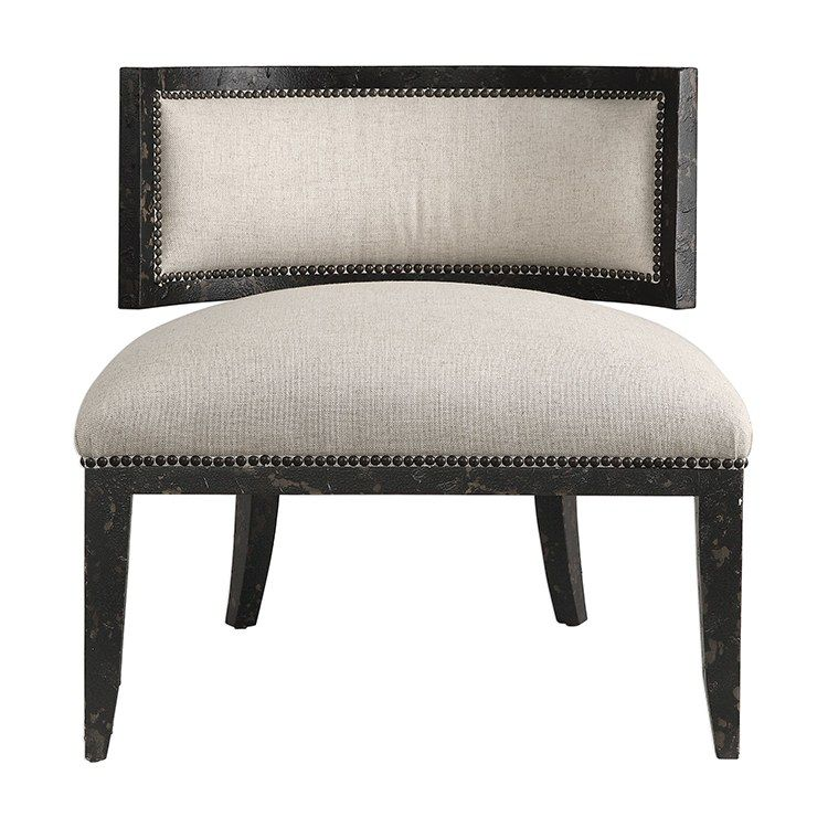 Uttermost 23464 Somer Accent Chair Accent Chairs Chair Living