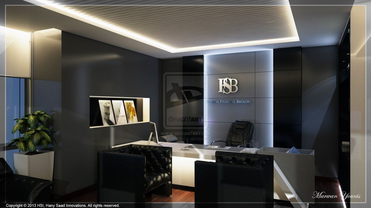 Office by apexlpredator dnsr for Contemporary office interior design