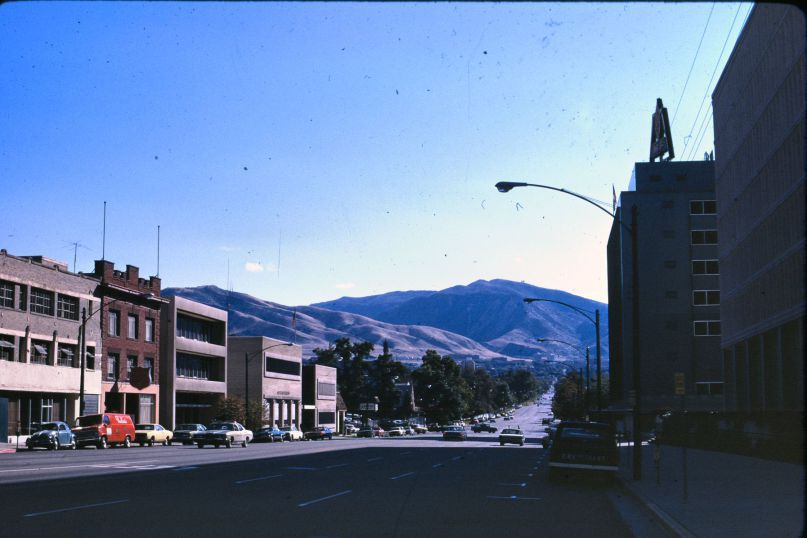 Broadway, East View, 1971