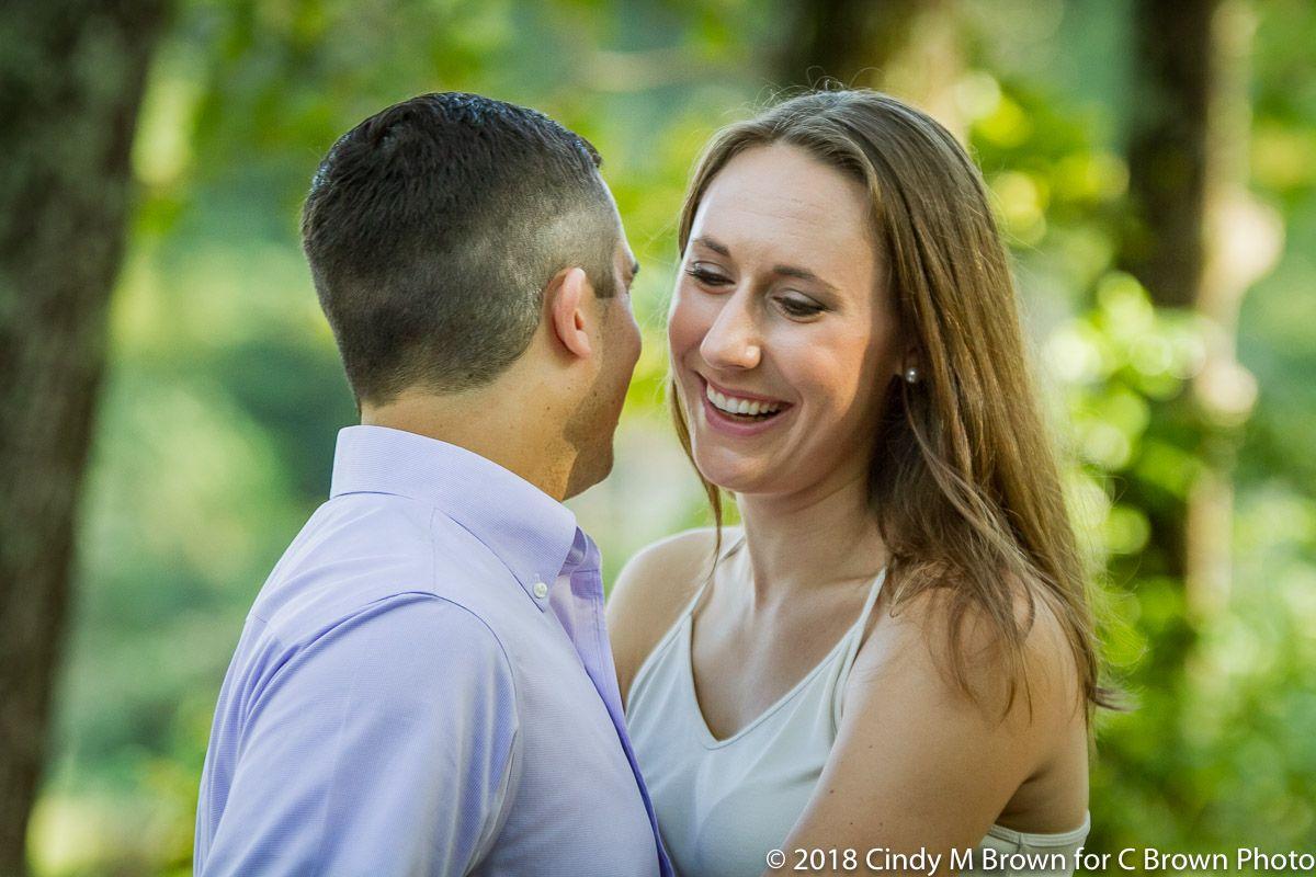 laughing-fiance-3 | Atlanta engagement, Atlanta engagement ...