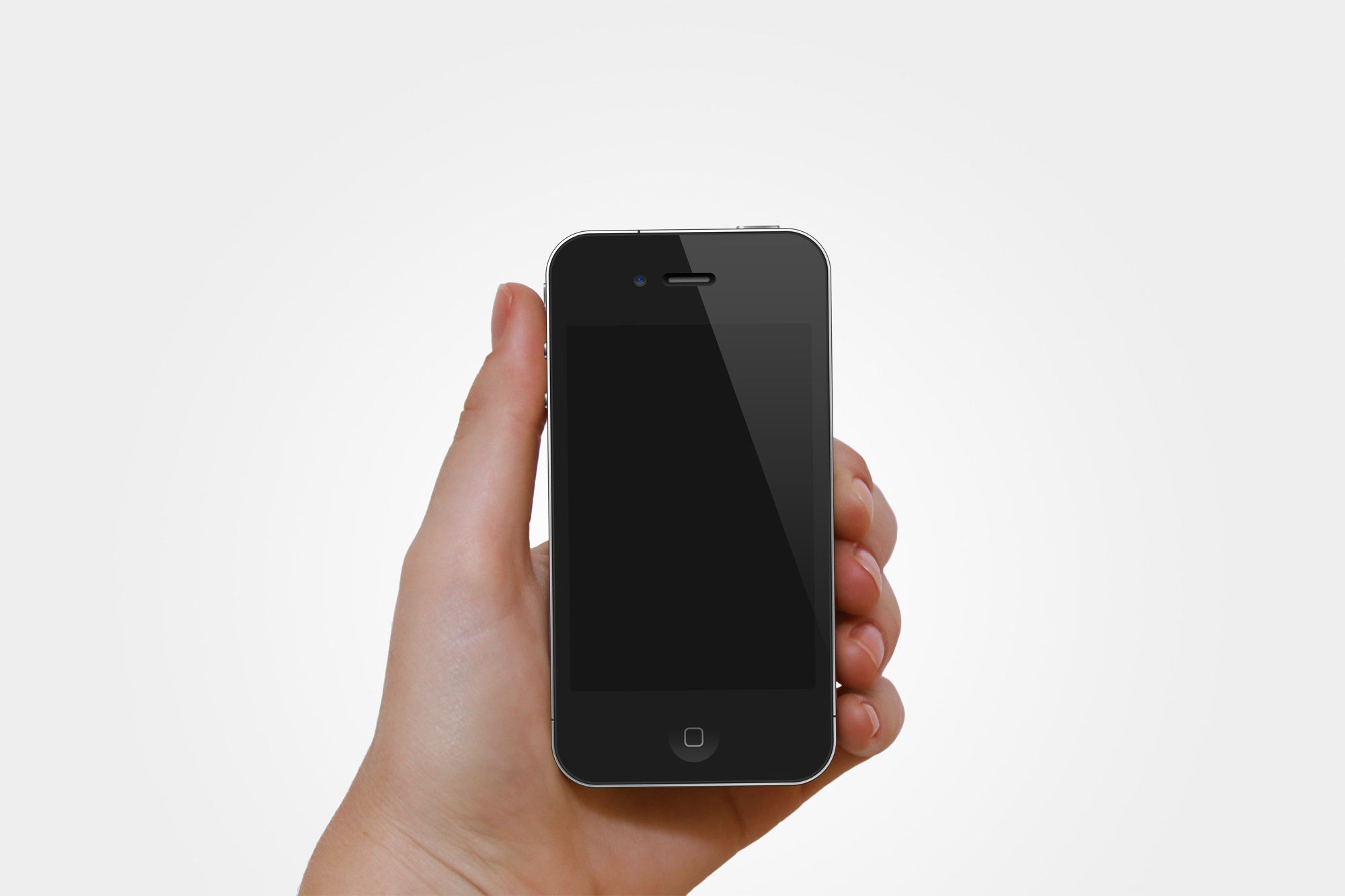 hand holding iphone iphone holding psd mockup mockups and icons 10757